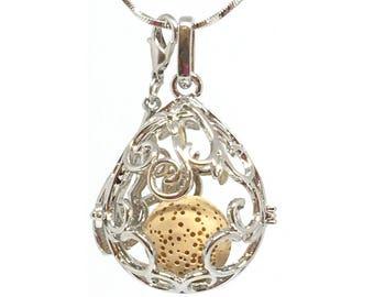 Essential Oil diffuser Necklace, perfume locket, Aromatherapy locket, diffuser necklace, essential oil locket