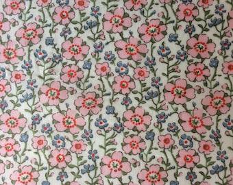 Tana lawn fabric from Liberty if London, Josie