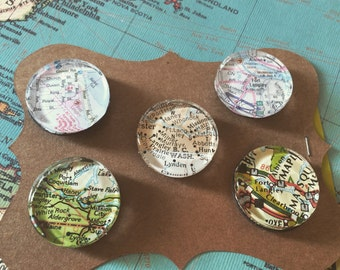 Magnetic map set of 5