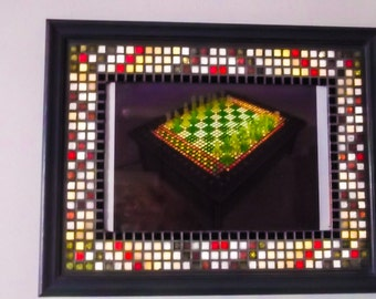Photo frame or mosaic picture