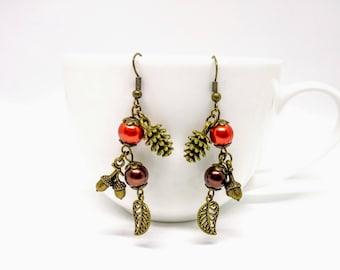 Autumn Nature Earrings
