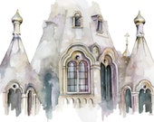 Cathedral Painting - Prin...