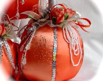 Fairy Tale Pumpkin Soft Sculpture Medium
