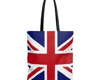 British Union Jack Flag Tote Bag