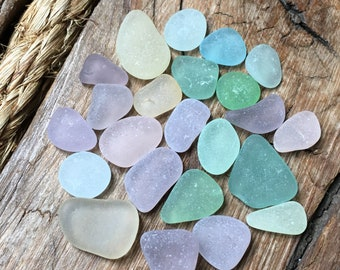 Pastel Sea Glass Mix