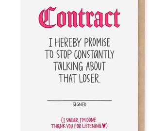 Contract card