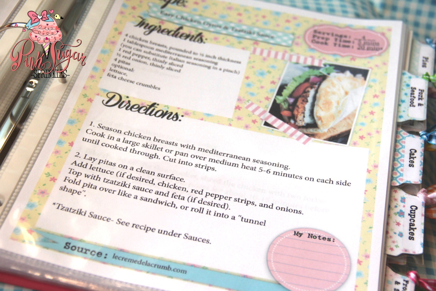 Kitchy Kitchen Cookbook! Internet Pages! DIY Print Yourself Instant ...