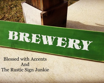 Brewery sign, brewery signs, beer signs, beer sign, pub sign, pub signs, man cave signs, man cave decor, rustic brewery signs, Rustic beer