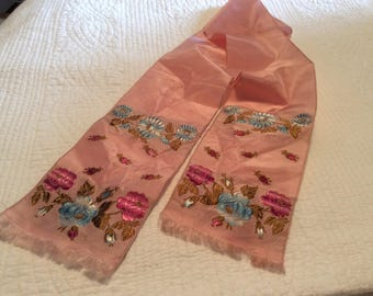 Gorgeous Antique ribbon with woven design
