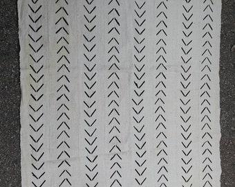 Mudcloth fabric hand woven 100% cotton