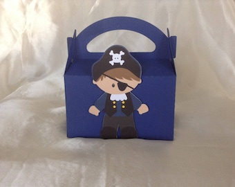 Pirate birthday candy box
