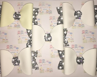 Set of 5 Colour Changing Hair Bows