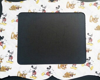 Mickey Mouse and Pluto Refrigerator Photo Frame Magnet.  5x7 Size. Magnetic Frame. Picture Frame Magnet