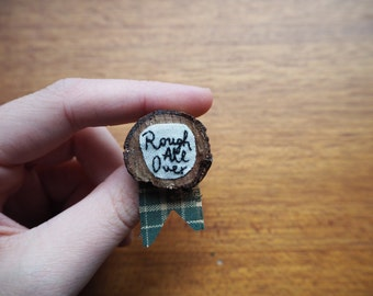 Rough All Over Brooch | THE OUTSIDERS