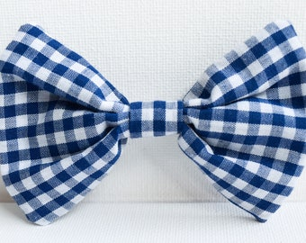 Fur-ever Gingham // Dog Bow Tie