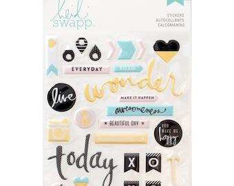 Heidi Swapp Memory Planner Puffy Stickers • Planner Sticker (312577)
