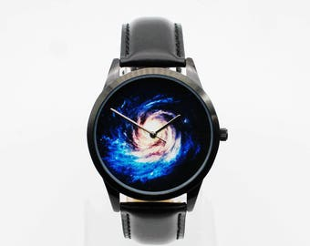 Dark sky,space watch,little star,Sky Full of Stars, Wrist watch, Women watch, Birthday gift, Special gift,boyfriend watch