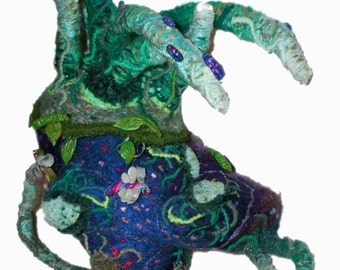 Ormus Rhodium - embroidered punchneedle backpack (David Wolfe, 2015)