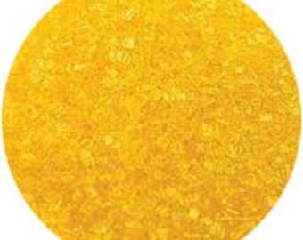 Yellow Sanding Sugar 4 Ounces