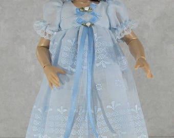 14 inch Kish Doll Dress, My Blue Heaven