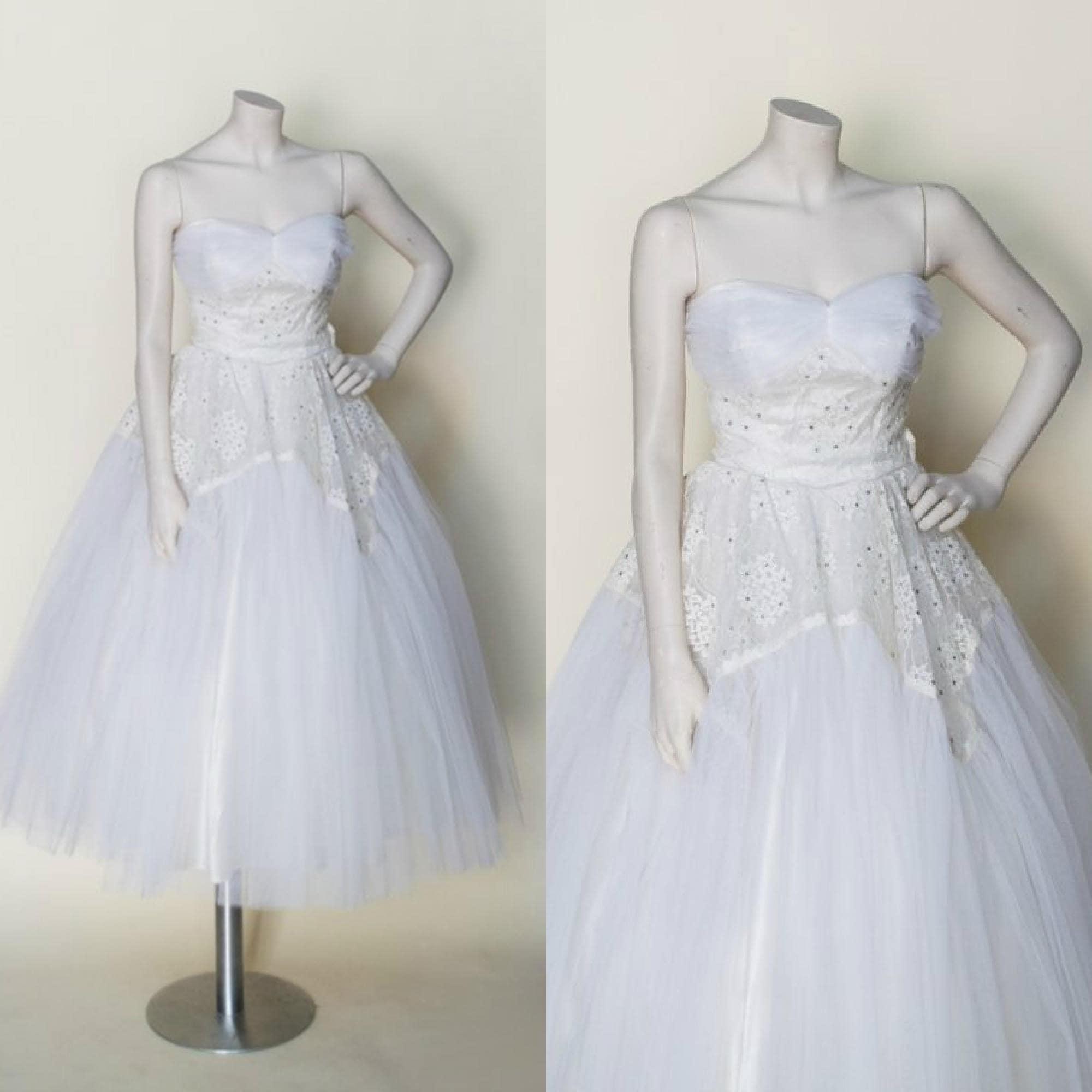 Berühmt Vintage Inspirierte Kleider Tee Länge Hochzeit Galerie ...