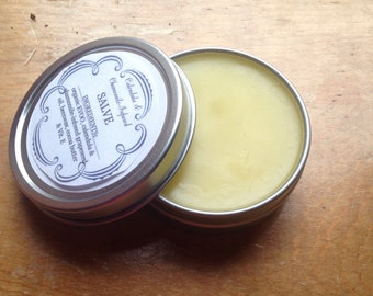 Calendula- & Chamomile-Infused Salve