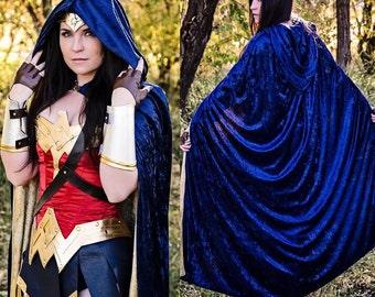 NEW Wonder Superhero Woman Cloak Cape
