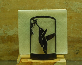 Hummingbird Napkin Holder -3010- Decorative Metal Napkin Holder