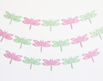 Dragonfly Party Banner - Customizable Colors