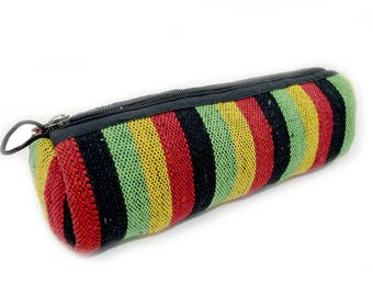 Large Rasta Pencil case