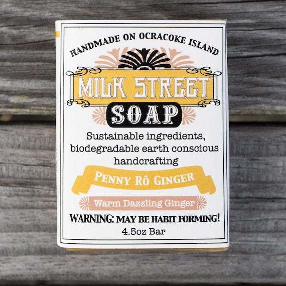 Penny Ro Ginger Goat Milk Soap