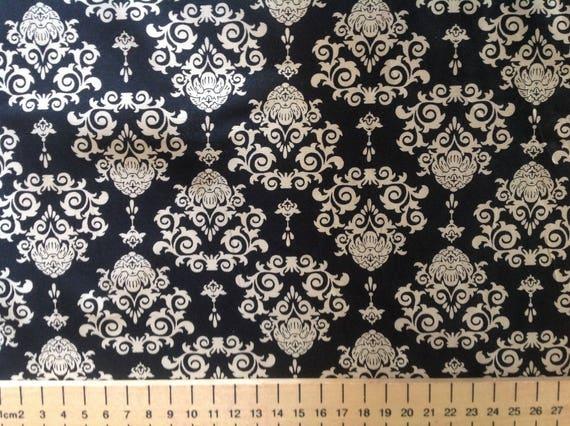 "High quality cotton poplin printed in Japan, ""wallpaper"" print"