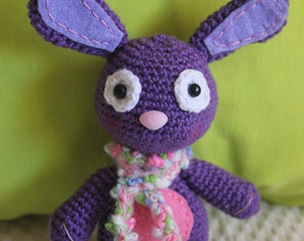 Crochet Bunny with scarf