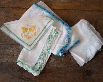 Vintage Hankies Bundles - Sold Separately