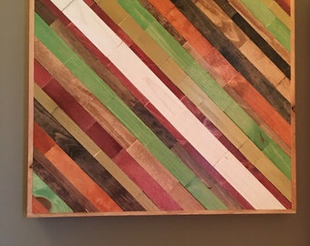 Wood Wall Art - Ready to Ship - FREE SHIPPING