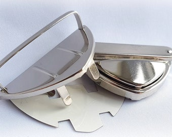 Silver thumb lock, purse lock, bagmaking