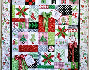 Jingle All The Way Quilt Kit - Kimberbell Designs - Lap quilt Top