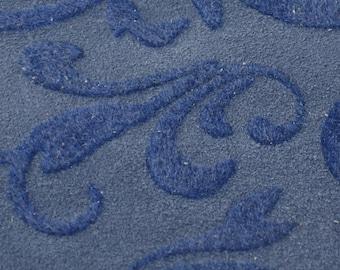 Blue nubuck leather coupon
