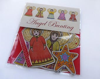 Angels and Stars Bunting Set