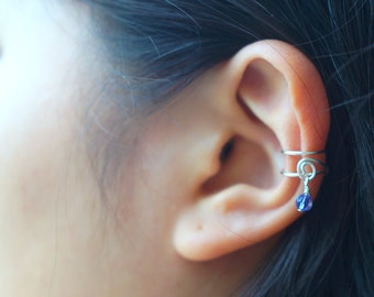 115) Cute Dangle Ear Cuff