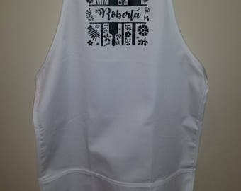 Personalized Chef's Apron with Pockets