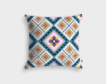 Design KNIT cushion - Made in France - 45 x 45 cm