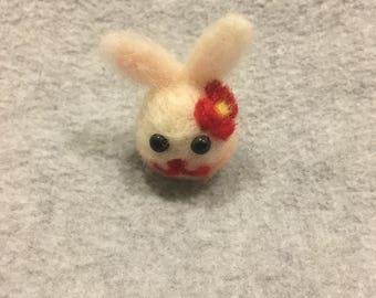 Needle Felt Wool Bunny/Rabbit