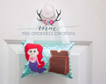 Tooth Fairy Pillow- Mermaid theme