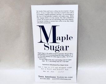 Maple Sugar - Seed Style Packet Envelope