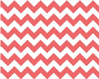 Medium Chevron Rouge  by Riley Blake Designs Fat Quarter Cut