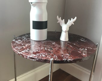 Solid Marble Top occasional table