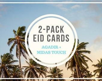 2-Pack Eid Cards (Agadir and Midas Touch)