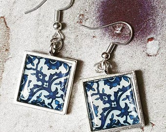Porcelana Tile Earrings