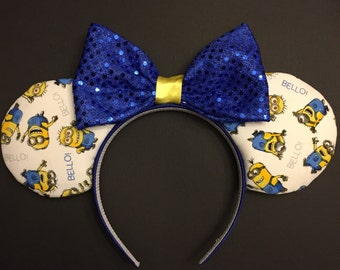 Minion Mickey Ears